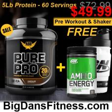Optimum Nutrition Stack w/, ABB Pure Pro Protein!